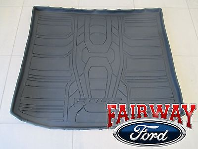 15 thru 18 Edge OEM Genuine Ford Parts Black Cargo Area Protector Mat NEW