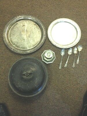 Tupperware Rose Silver Plate Acces