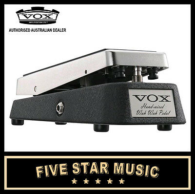 Vox V846-Hw Hand Wired Wah Pedal Classic Guitar Effect Black & Chrome 846 - New