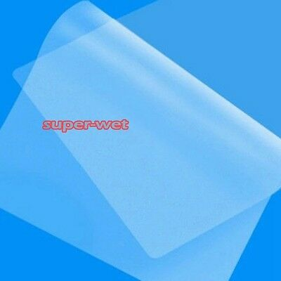 100 X A4 Laminating Laminator Machine Sheets Pouches Sleeves Pockets Clear New