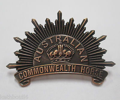 WW1 light horse hat badge 1901 2nd pattern