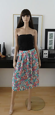 Jupe vintage LYKETTES USA fleurie taille 40
