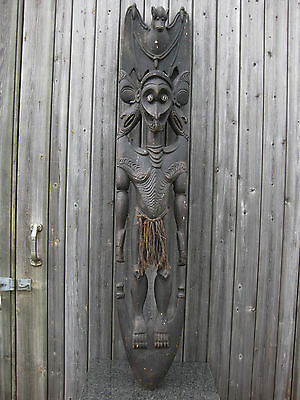 Exceptional Cult Bat Hook Papua New Guinea Tribal Oceanic Png