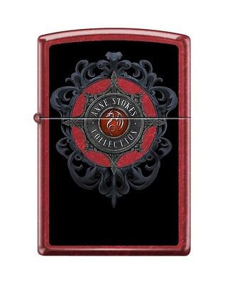 Zippo 21063 Anne Stokes Collection Candy Apple Design Lighter RARE