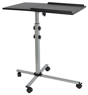 Projector & Laptop Adjustable Trolley Presentation Cart Mobile Projection Stand