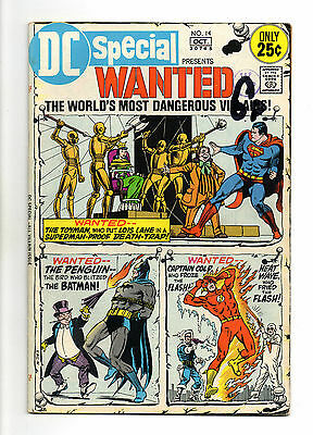 DC Special No. 14 Oct 1971 (FN-) Pres: Wanted, 48 pages, Bronze Age (1970-1979)