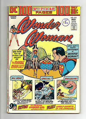 Wonder Woman Vol 1 No 211 May 1974 (FN) DC, 100 Pages, Bronze Age (1970 - 1979)