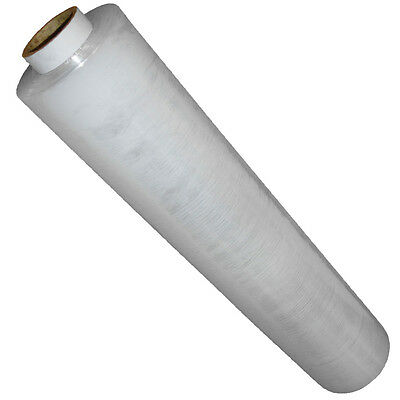 1 Roll CLEAR 400mm x 250m NORMAL Core Strong Pallet Stretch Cling Film Wrap U395