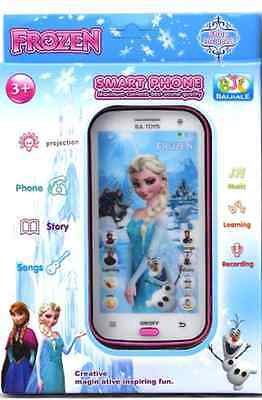 Learning Toys  Mobile phone Smartphone young pre-school baby kids, Disney Frozen