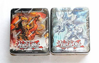 Yu Gi Oh 2013 Collectors Tin Tidal Blaster Dragon Ruler Of Waterfalls Infernos