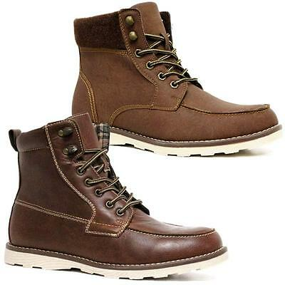 Mens Ankle Boots Military Biker Dealer Chukka Desert Walking Army Boots Shoes