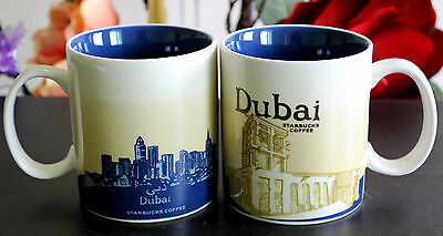 New Starbucks Coffee Mug Collector Series dubai City Mugs 16oz