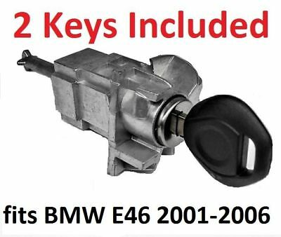 fits BMW E46 3 SERIES LEFT DRIVER DOOR LOCK CYLINDER BARREL ASSEMBLY KEY