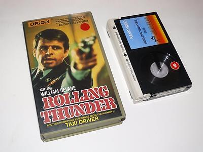 Betamax Video ~ Rolling Thunder ~ William Devane / Tommy Lee Jones ~ Orion