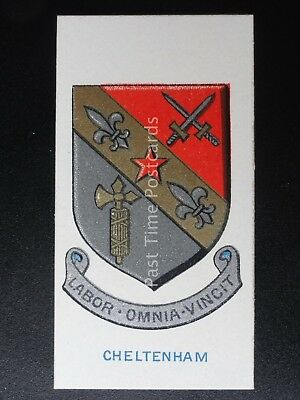CHELTENHAM COLLEGE School Badges (Light Blue) by Cavanders Ltd 1928