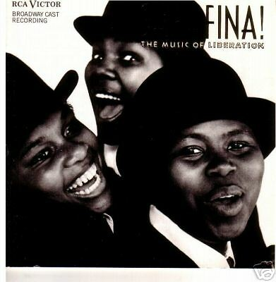 Sarafina:The Music Of Liberation-1988- Broadway Cast CD