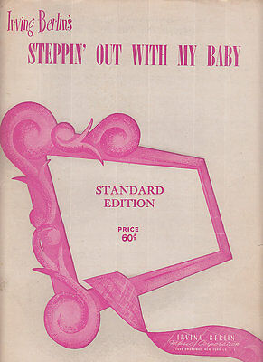 Steppin Out With My Baby-1947-Irving Berlin-Sheet Music