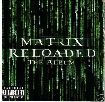 Matrix Reloaded -2003 The Album Original Soundtrack 2 CD