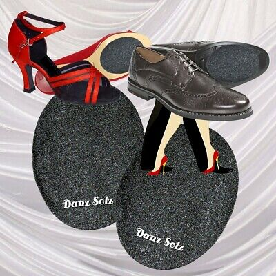 Danz Solz Stick on Dance Soles for Dancing Shoes Ballroom Swing Salsa 2 Pair