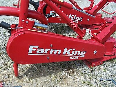 New Farm King 8 ft. Disc Mower, Cat I-II  Can Ship at $1.85 per loaded mile.