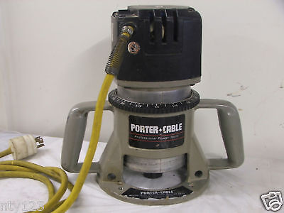 Porter Cable Router Model 75192 With 75361 Base