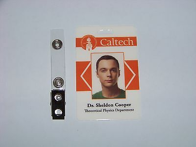 The Big Bang Theory - Dr. Sheldon Cooper , ID - Karte , ID Badge