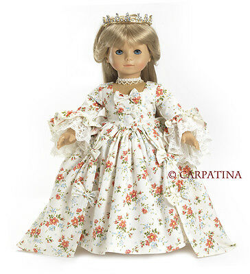 "Doll Clothes AG 18"" Dress Marie Antoinette Carpatina Made For American Girl Doll"