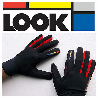 Full Finger MTB BMX Cycling Gloves Lightweight (LOOK CYCLES Brand)