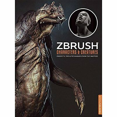 ZBrush Characters Creatures Papstein Steiner Aerni 3DTotal Team P. 9781909414136