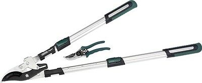 Draper 36823 Expert Telescopic Bypass Ratchet Action Loppers and Secateur Set