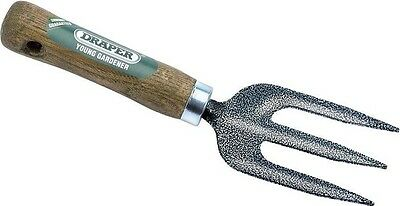 Draper 20697 Young Gardener Weeding Fork with Ash Handle