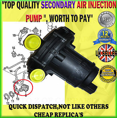 For Skoda Octavia Seat Cordoba Ibiza Leon Toledo Secondary Air Injection Pump