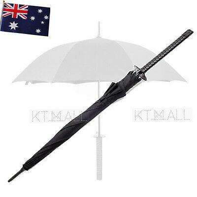 Sword Umbrella Black | Creative Novelty katana japanese ninja pirate