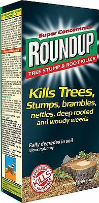 Roundup Tree Stump & Root Nettle Brambles Glyphosate Killer Concentrate 250ml