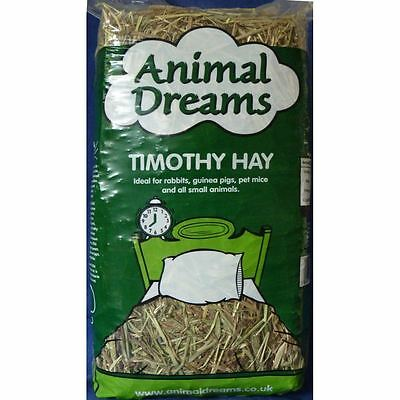 Animal Dreams Fresh Timothy Bedding Food Hay Rabbit Guinea Pig Hamster Fibre 1kg