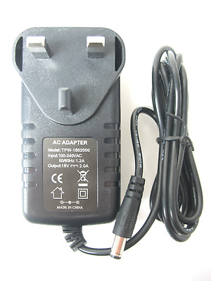Ac/dc Mains Switch Mode Power Adaptor/supply/charger 1500Ma/1.5A 18V (Regulated)