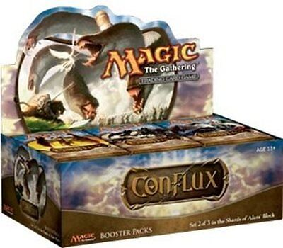 New Magic The Gathering Conflux Booster Packs Full Box Sealed Wotc Mtg