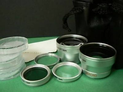 SL LENS WIDE+TELE+FILTER For 37mm Olympus Pen EP1 EP2 Camera 17mm