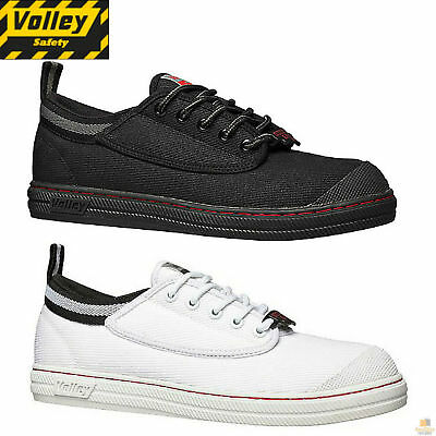 DUNLOP VOLLEYS Steel Cap Toe Safety Shoes Volley Original Classic Trade Sz 6-13