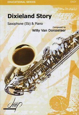 Partition pour saxophone - Willy Van Dorsselaer - Dixieland Story Eb