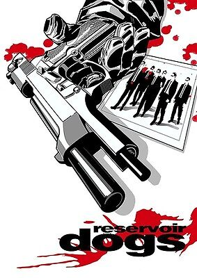 Mens T-Shirt, Reservoir Dogs Poster, Ideal Gift or Birthday Present.