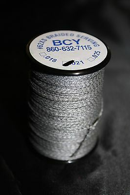 CLOSEOUT Silver BCY 62XS .021 Jig Spool Center Serving Bowstring Material