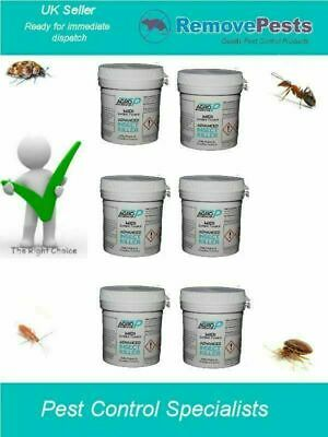 6 x Midi Killer bombs HSE Approved woodlice mite ant Killer pots AP