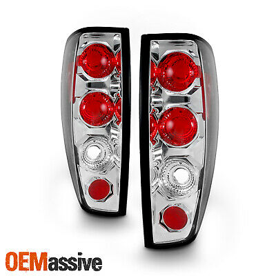Fits 04-12 Chevy Colorado Canyon Pickup Truck Chrome Tail Brake Lights Lamp Pair