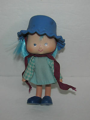 Vtg Strawberry Shortcake Blueberry Muffin with Hat, Shoes