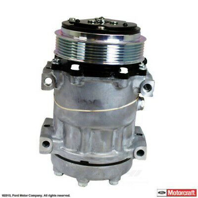 A/C Compressor and Clutch-New MOTORCRAFT YCC-187 fits 11-16 Ford F53 6.8L-V10