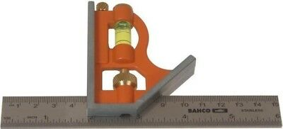 Bahco Metric / Imperial Markings Die-Cast Combination Square CS150