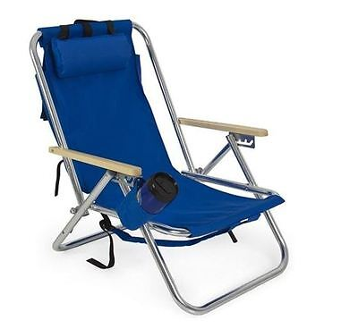 Backpack Beach Chair Folding Portable Chair Outdoor Patio Lounge Camping Chairs