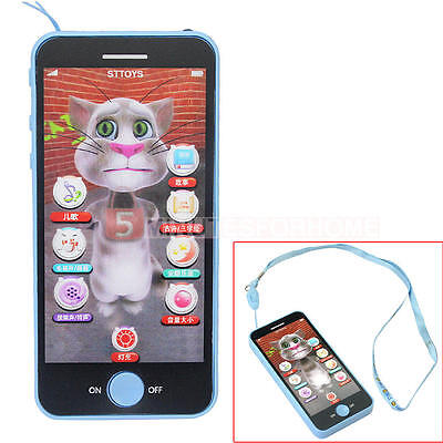 Baby Kids Children Chinese Smart Touch Screen Phone Educational Learning Toy