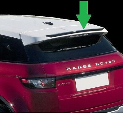 Rear accessory lip spoiler for Range Rover Evoque rear tailgate pure prestige